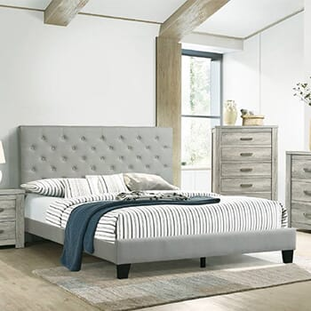 Queen Bed Frame & Mattress Set!