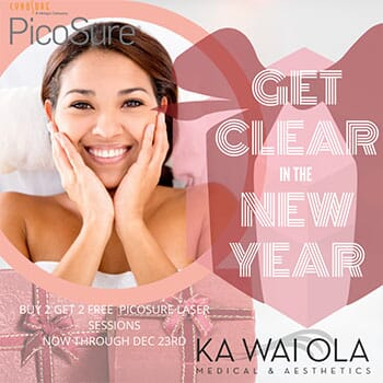 Clear in the New Year Aesthetics Package!
