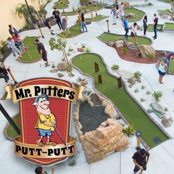 Mr. Putter's Putt Putt - Get 3 months of unlimited miniature golf!