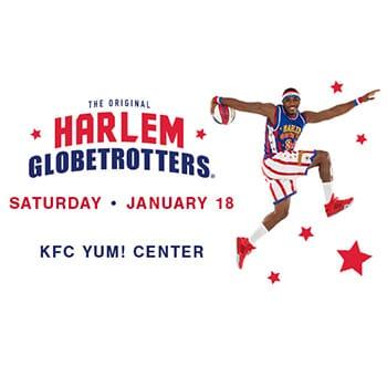 The Iconic Harlem Globetrotters at the KFC Yum Center