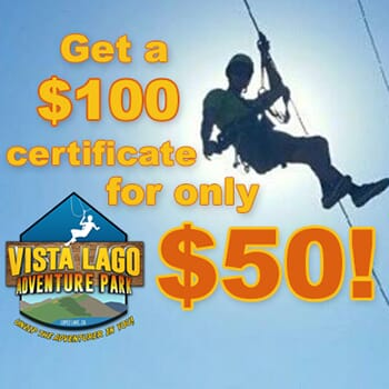 Vista Lago Adventure Park: Get a $100 voucher for only $50