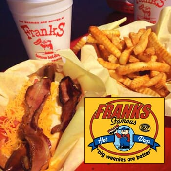 Frank's Famous Hot Dogs: Get $50 worth of vouchers for $25