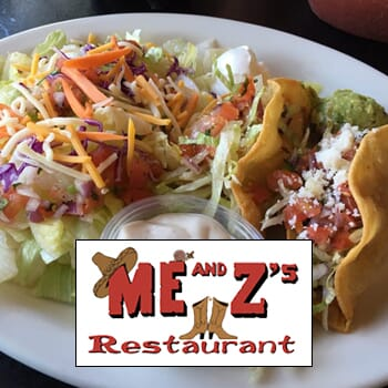 Me & Z's Restaurant: Get $50 worth of vouchers for $25