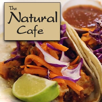 Natural Cafe: Get $50 worth of vouchers for $25