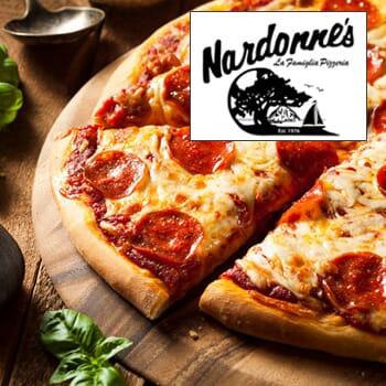 Nardonne's Pizza: Get $50 vouchers for $25