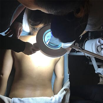 Half Price Back Facial Treatment