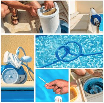 Weekly Season Valet Pool Service from Pristine Pools!