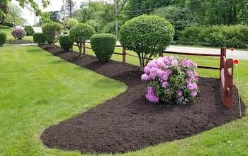 15 yards of Mulch Blowing Service! Mulch Included!-2