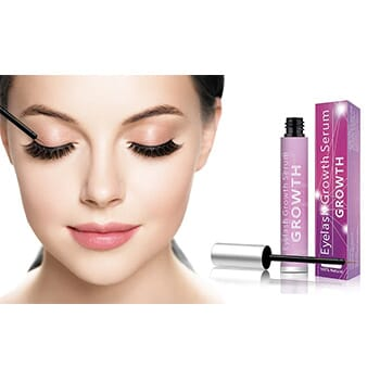 Eyelash Growth And Enhancer Serum (2-Pack) - $19.99 with FREE Shipping!