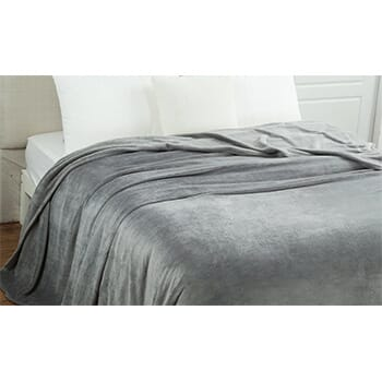 "50"" X 60"" Ultra Soft Micro-Fleece Throw Blanket - $24.99 with FREE Shipping!"
