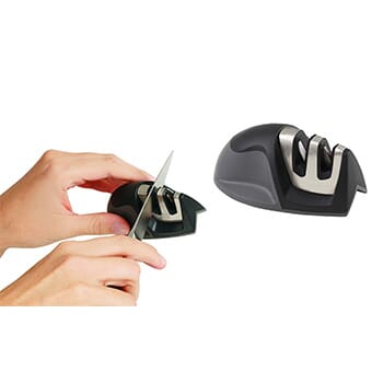 UltraSharp 2 Stage Knife Sharpener (1-Pack) - $11.99 with FREE Shipping!