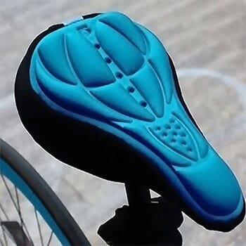 AU/_ Plastic BMX Bike Hollow Saddle Pad Seat Bicycle Cycling MTB Mountain Road Cu