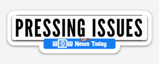 Pressing Issues Sticker