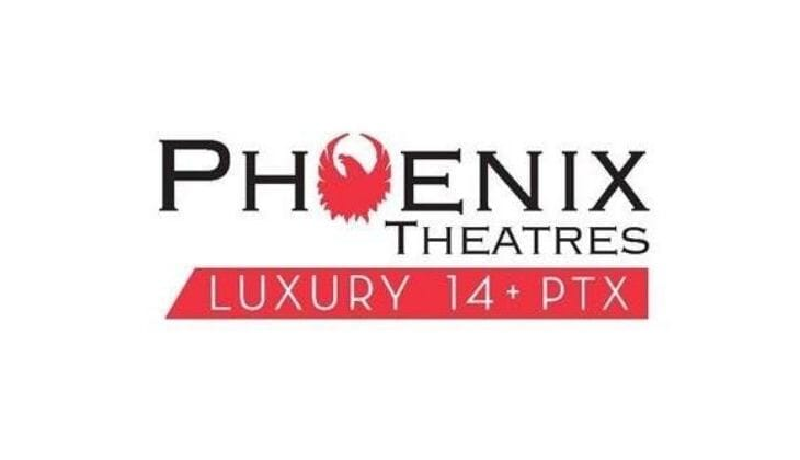 2 Evening Tickets to Phoenix Theatres Luxury 14 + PTX in Bridgeville!