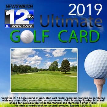 Ultimate Golf Card - Spring 2019