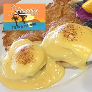 Paradise Grill: Get $50 worth of vouchers for $25