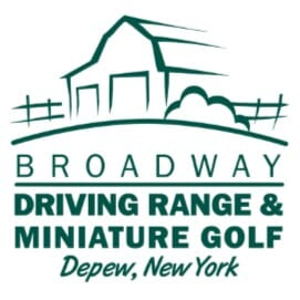 Four Medium Buckets of Balls and/or Four Rounds of Miniature Golf to Broadway Driving Range & Miniature Golf