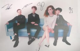 Echosmith - Small Autographed Poster