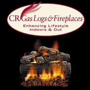 CR Gas Logs - Vented Hearth Kit - Propane Gas with Safety Pilot Valve
