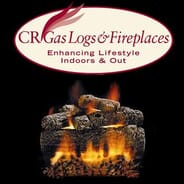 CR Gas Logs & Fireplaces - Vented Hearth Kit - Natural Gas with Safety Pilot System