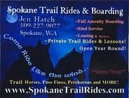 Spokane Trail Rides - 2 Hour Private Trail Ride for Two