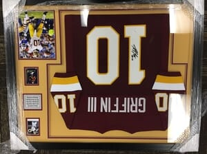 Sports Haven Inc. - Robert Griffin III Autographed Framed Jersey