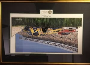 "Sports Haven Inc. - ""The Wild Side"" Framed Print - Dale Sr/Bill Elliott"