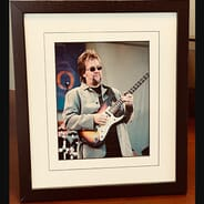 97.1 FM The Drive - A WalkDown Abbey Road Framed David Pack Photo