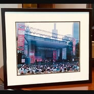 97.1 FM The Drive - A Walk Down Abbey Road Framed Stage Photo