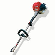 Brentwood Power Equipment - Maruyama M27QC power head with string trimmer attachment and brush cutter attachment, value $600