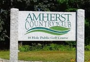 Amherst Country Club - Round of golf for two at Amherst Country Club
