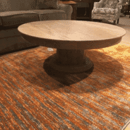 Spector Furniture and Mattress Gallery - Solid Italian Marble Round Cocktail Table
