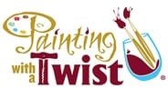 Painting With A Twist - Paint & Wine Package valued at $75
