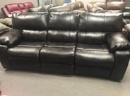 Chris Miller Furniture - AFFORDABLE FURNITURE CANYON LEATHER RECLINING SOFA AND LOVESEAT SET