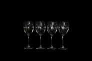 Ned Smith Center - Set of 4 Wineglasses