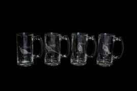 Ned Smith Center - Set of 4 Beer Mugs
