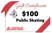 Lancerlot Sports Complex - Public Ice Skating Gift Certificate - $100