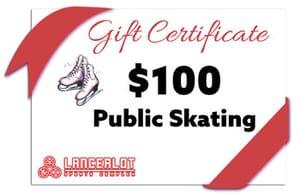 Lancerlot Sports Complex - Public Ice Skating Gift Certificate