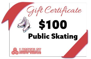 Lancerlot Sports Complex - Public Ice Skating Gift Certificate
