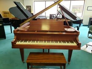 Denton, Cottier, and Daniels Pianos & Organs - Chickering Baby Grand Piano