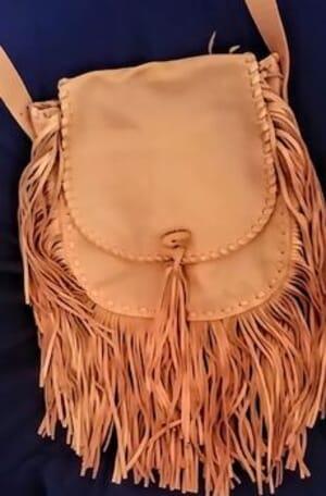 House of Chalice - Customizable Fringe Handbag