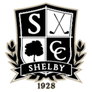 THE SHELBY COUNTRY CLUB  - $50 CERTIFICATE TO 1928 GRILLE, THE PRO SHOP,  OR THE CLUB HOUSE