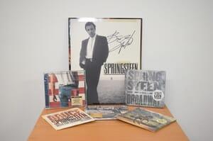 Bruce Springsteen - Autographed Scrapbook + CDs Prize Pack