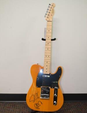 The Black Keys - Autographed Squier Telecaster Guitar
