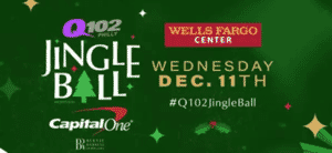 Q102 Jingle Ball - 4 Pack of Tickets Prize Pack