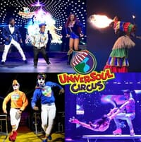 Universoul Circus - 4 Tickets + Ringmaster Experience