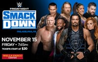 WWE Smackdown - Friday Night Live Experience