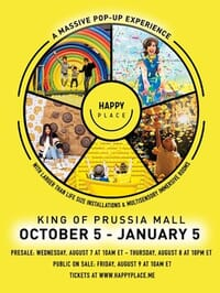 Happy Place @ King of Prussia Mall - Family 4-Pack