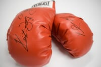 Manny Pacquiao & Keith Thurman - Autographed Boxin...
