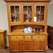Hager Furniture - Zimmerman Chair Company Solid Wood Menonnite Heirloom Cabinet